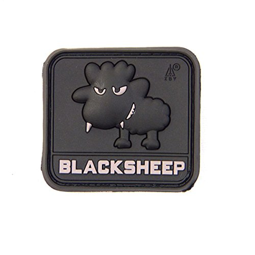 Airsoft Little Black Sheep Swat Moral Patch