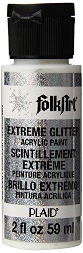 FolkArt Extreme Glitter Paint 2oz-Hologram