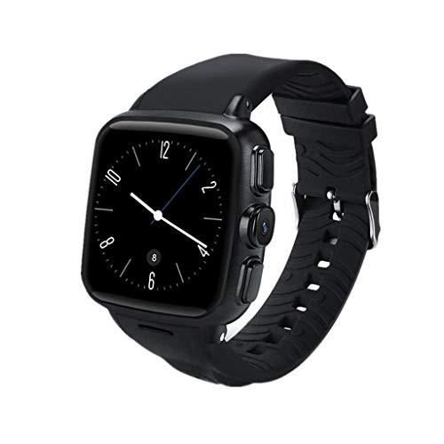 MuSheng Fitness Armband,Wasserdicht Tracker Farbbildschirm Aktivitätstracker Smartwatch Pulsuhren fitnessarmband Schrittzähler Uhr Smart Watch mit Kamera unterstützt SIM-Karte GPS Samsung 720p Lcd