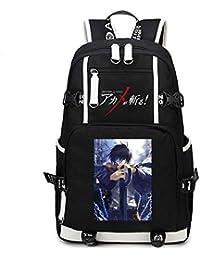 58881dc043c9e Cosstars Akame ga Kill Anime Mochila Escolar Estudiante Bolso de Escuela  Backpack Mochila para Portátil