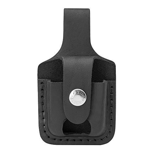 Zippo 60001221 Feuerzeug-Tasche LPTBK schwarz Lighter Pouch Black w/ Loop 1701009