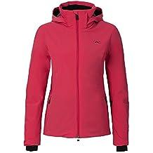 KJUS Formula Jacket–Chaqueta de esquí para mujer, modelo 2016/17, mujer, color geranium, tamaño 38 [DE 36]