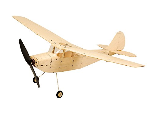 Rc Balsaholz-flugzeuge-kits (arkai SUPERMINI - Cessna L-19 MIT Brushless Motor - KIT für RC Ausbau Balsaholz 44 cm 50 Gramm !!!)