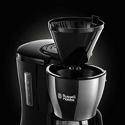 Russell-Hobbs-23750-56-Digitale-Thermo-Kaffeemaschine-Fast-Brew-10l-Schnellheizsystem-programmierbarer-Timer-1200-Watt-EdelstahlSchwarz