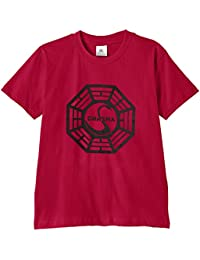 Touchlines Kinder T-Shirt Lost Dharma Logo,