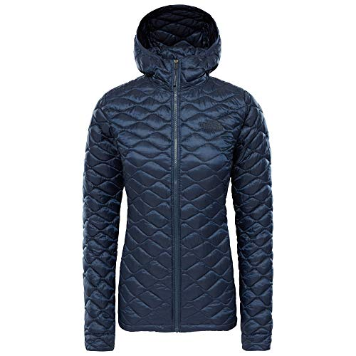 THE NORTH FACE Damen Steppjacke mit Kapuze Thermoball Hoody Marine (300) L