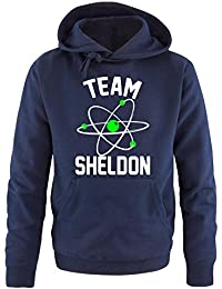 Comedy shirts coupe-tEAM sHELDON dELUXE-sweat-shirt à capuche pour homme- 0066fde84214