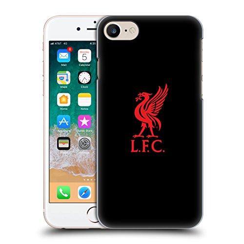 Head Case Designs Offizielle Liverpool Football Club Logo Rot Und Schwarz Liver Bird Harte Rueckseiten Huelle kompatibel mit iPhone 7 / iPhone 8