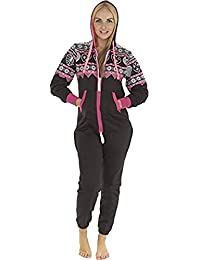 86ff737ee36a Love My Fashions Womens Unisex Outfit Aztec Print Camo camouflage Hooded  Zipped All in One Activewear Onesie Jumpsuit For Adult Men…