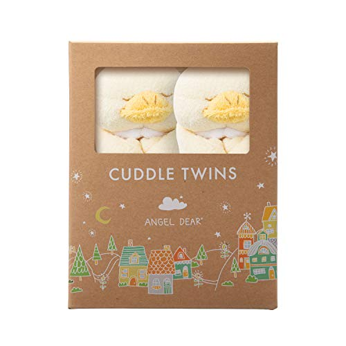 Angel Dear Baby Blankie Cuddle Twin Set-Ducky