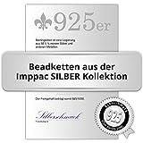 IMPPAC Textil Kette 925 schwarz für European Beads Armband SML8145 - 2