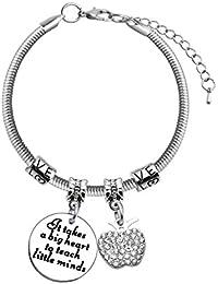 0d9014aa52b7 Amazon.es  regalo para profesora - Pulseras   Mujer  Joyería