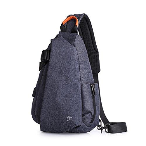 aa5f9e6bc24d7 OBOC Brusttasche Sling Rucksack Schultertasche Brusttaschen für Herren  Daypack Militär Sporttasche