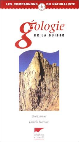 Géologie de la Suisse