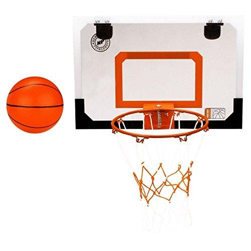 Mini ganasta con mini baloncesto
