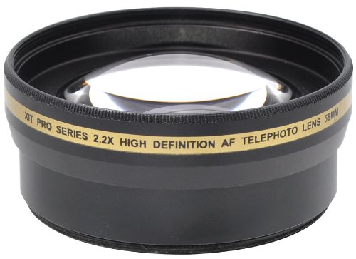 X-it Xit XT2X58 58mm 2.2x Telephoto Lens (Black)
