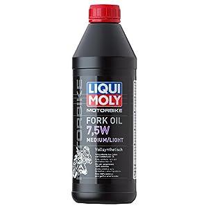 Liqui Moly 2719 Huile pour Fourche Medium/Light 7,5W de Moto, 1 L pas cher