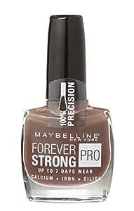 Vernis à Ongles Tenue & Strong Pro Gemey Maybelline - 785 Marron Glacé