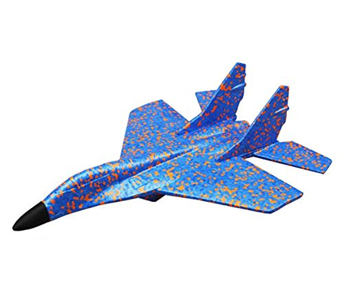 (Simulation Flugzeug Spielzeug Modell Werfen Flugzeuge Outdoor Sport Toys-Star)