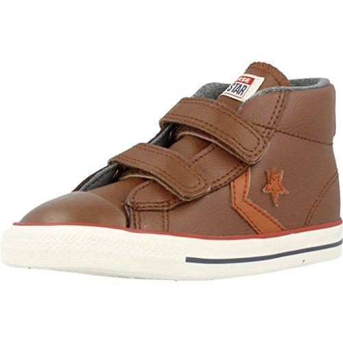 Zapatillas para niño, Color marrón, Marca CONVERSE, Modelo Zapatillas para Niño CONVERSE Star Player EV 2V Mid Marrón