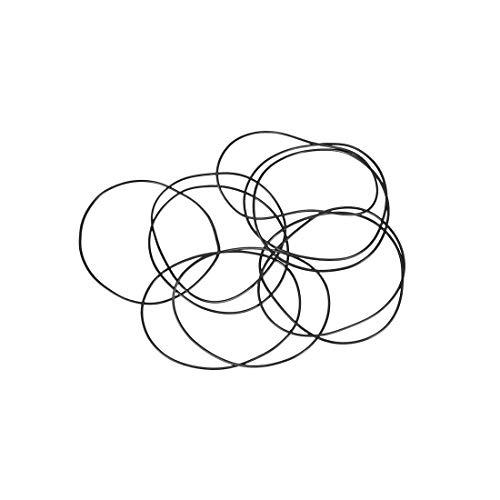 sourcing map 10pcs O-Ringe Nitrilkautschuk Gummi 41mm x 43mm x 1mm Dichtungsringe Dichtung DE de 43mm Ring