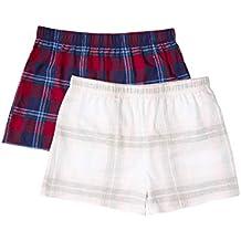 Iris & Lilly Flannel Check Pantalones de pijama Mujer, ...