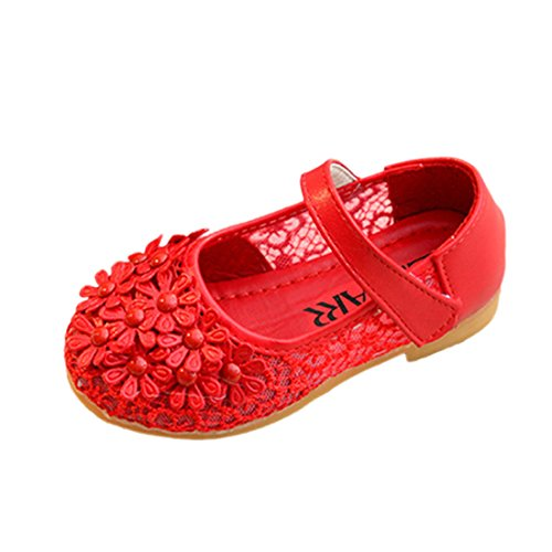 YIBLBOX Mädchen Kinder Schuhe Prinzessin Partei Schuhe Sandalen für Mädchen Kostüm Party Geburtstag