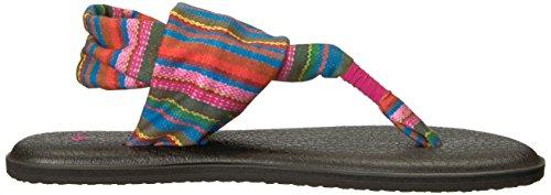 Sanuk Damen Yoga Sling#2 Prints Zehentrenner Cabaret Kauai Blanket