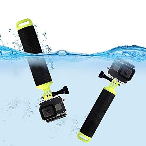 Eastshining Schwimmender Handgriff Unterwasser Hand Grip auf Schwimmen Tauchen Reiten Bergsteigen, Zubehör für GoPro Hero und andere Action Kamera