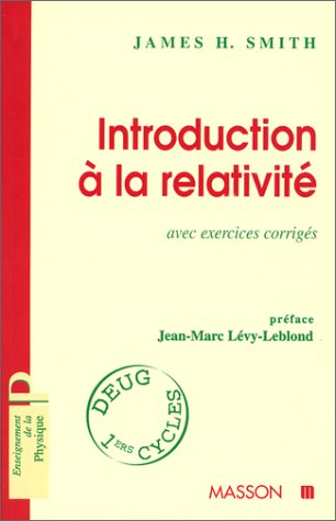 INTRODUCTION A LA RELATIVITE