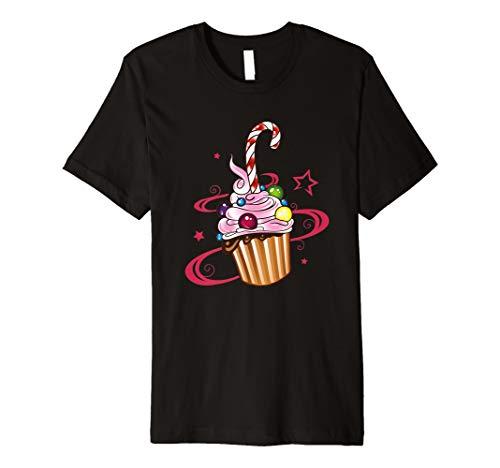 Cupcake Muffin Kuchen Süßigkeiten Schokoladen T-Shirt