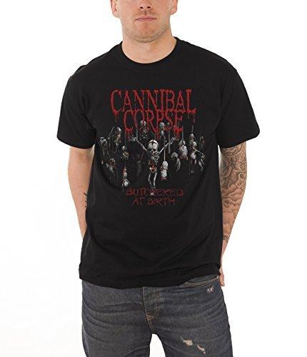 Cannibal Corpse - Top - Maniche corte  - Uomo nero Small