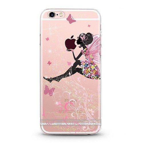 ITGM iPhone Cover Custodia antiurto per iPhone in TPU, leggera in silicone, con foto, protezione antigraffio, Silicone, Battery, iPhone 6, 6S fee
