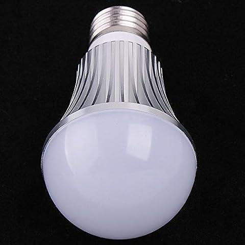 XIE@ 85-265V E27 5W bianco caldo Ultra luminoso LED luce