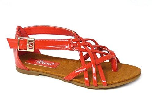 SKO'S , Sandales pour femme Red (13001)