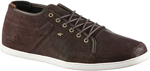 Boxfresh Sparko Prem Brown White Waxed Suede Trainers Shoes -7