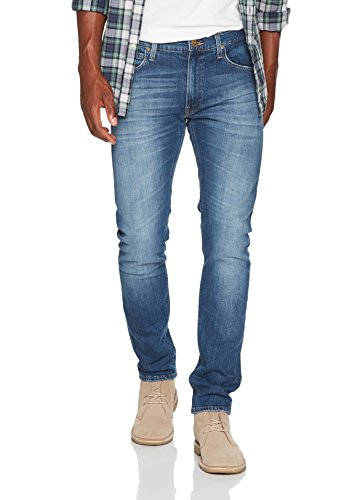 Lee Herren Tapered Fit Jeans Luke Blau (Chelsea Aged APNP)