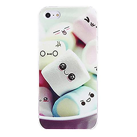 RedSuns Dessin animé candy design silicone coque <iPhone 5/5S iPhone