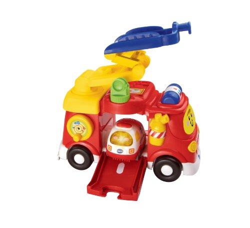 Vtech - 151315 - Véhicule Miniature - Tut Tut Bolides - Mon Super Camion De Pompiers