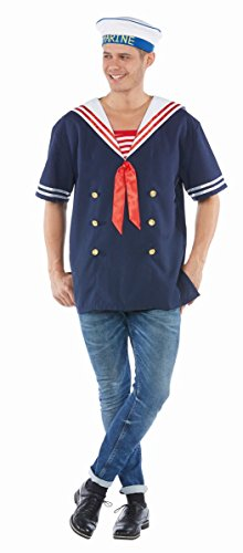 Herren Kostüm Matrose Marine Uniform Karneval Fasching Gr.54 (Matrosen Uniform Herren Kostüme)