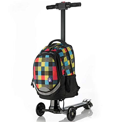 Boarding Veranstalter (SPFCAR Business Trolley-Koffer Weiblich Männlich Koffer Scooter Electric Aircraft Rad Boarding Bag Studente)