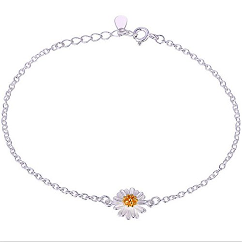 omos-ladies-flower-daisy-adjustable-925-sterling-silver-charm-bracelet