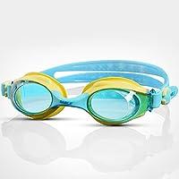 Occhiali da sole maschili e femminili HD anti-appannamento luce piatta occhiali da nuoto per adulti occhiali da nuoto per bambini,C