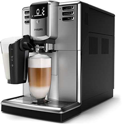 Philips Cafeteras espresso completamente automáticas EP5333/10 Kaffeemaschine, Polycarbonate, 1.8 liters, Schwarz
