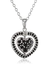 Hot Diamonds Turning colgante de corazón con cadena de 61 cm