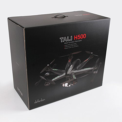 Walkera 25161 - Tali H500 Hexacopter FPV 3D Gimbal Devo12E mit HD Cam, weiß - 5