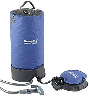 Semptec Urban Survival Technology Solardusche: Tragbare Druck-Campingdusche mit Fußpumpe, 11 Liter (Outdoordusche)