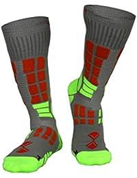 TEFANESO Calcetines ciclismo, calcetines ciclismo ideal para hombre mujer. Calcetines deportivos para senderismo,