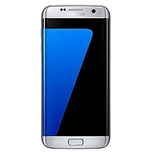 Samsung Galaxy S7 Edge SM-G935F Factory Unlocked Smartphone - Titanium Silver.