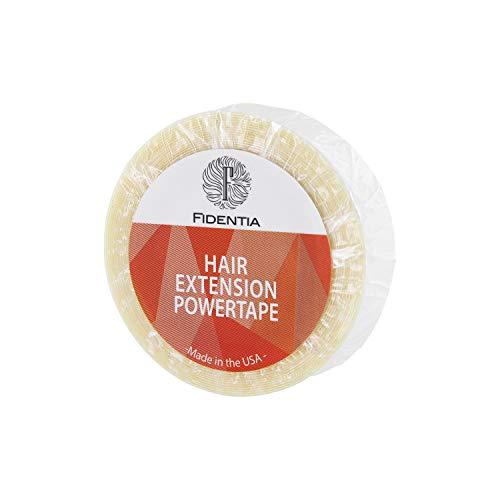 Fidentia Hair Extension Kleberolle für Tape in, Perücken und Zweithaar (1 Rolle Super/Strong) (Super/Stark) (Perücke Hair Extensions)